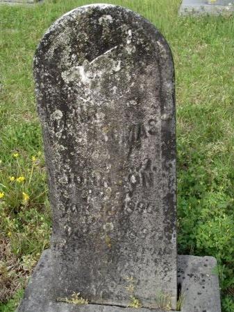 JOHNSON, DANIEL THOMAS - Bradley County, Arkansas | DANIEL THOMAS JOHNSON - Arkansas Gravestone Photos