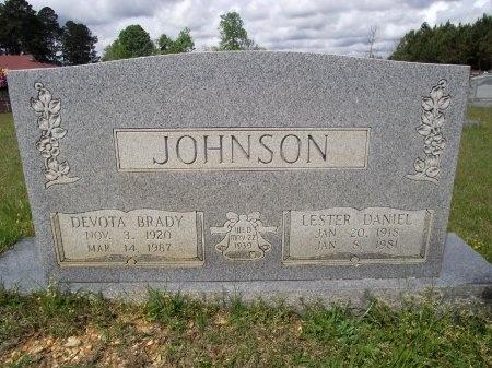 JOHNSON, LESTER DANIEL - Bradley County, Arkansas | LESTER DANIEL JOHNSON - Arkansas Gravestone Photos