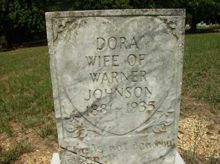 JOHNSON, DORA - Bradley County, Arkansas | DORA JOHNSON - Arkansas Gravestone Photos