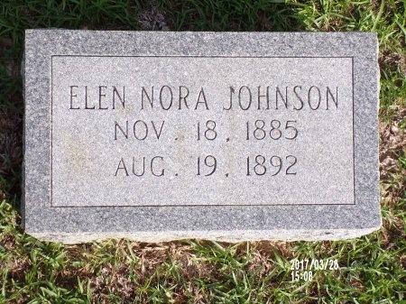 JOHNSON, ELEN NORA - Bradley County, Arkansas   ELEN NORA JOHNSON - Arkansas Gravestone Photos