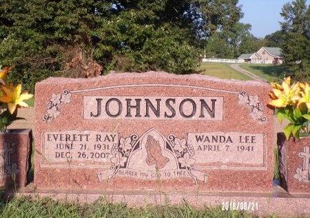 JOHNSON, EVERETT RAY - Bradley County, Arkansas | EVERETT RAY JOHNSON - Arkansas Gravestone Photos