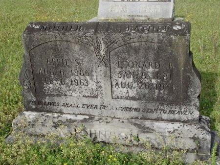 JOHNSON, LEONARD BOYCE - Bradley County, Arkansas | LEONARD BOYCE JOHNSON - Arkansas Gravestone Photos