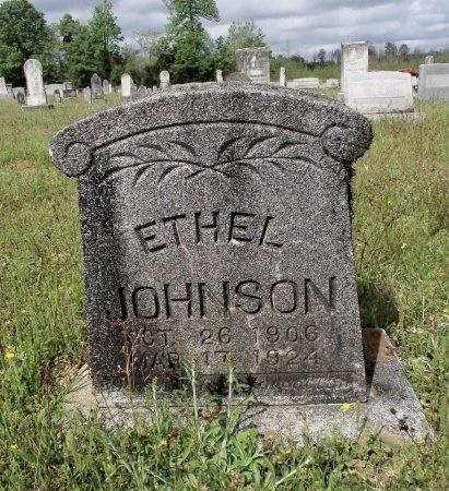 JOHNSON, ETHEL - Bradley County, Arkansas   ETHEL JOHNSON - Arkansas Gravestone Photos