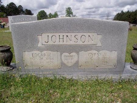 JOHNSON, EDGAR M - Bradley County, Arkansas | EDGAR M JOHNSON - Arkansas Gravestone Photos