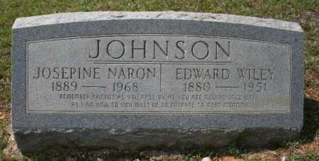 JOHNSON, EDWARD WILEY - Bradley County, Arkansas | EDWARD WILEY JOHNSON - Arkansas Gravestone Photos