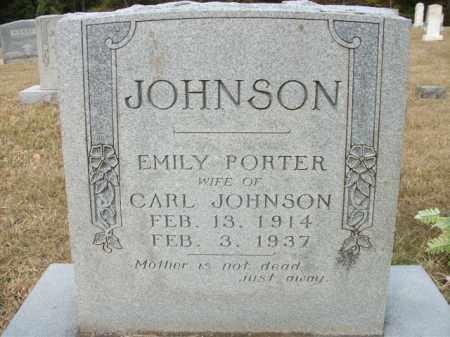 JOHNSON, EMILY - Bradley County, Arkansas   EMILY JOHNSON - Arkansas Gravestone Photos