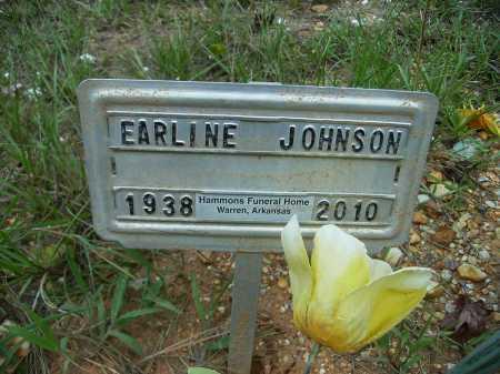 JOHNSON, EARLINE - Bradley County, Arkansas   EARLINE JOHNSON - Arkansas Gravestone Photos