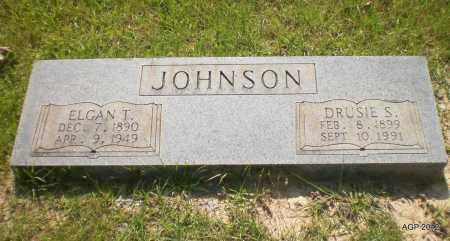 JOHNSON, DRUSIE S - Bradley County, Arkansas | DRUSIE S JOHNSON - Arkansas Gravestone Photos