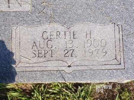 JOHNSON, GERTIE (CLOSE UP) - Bradley County, Arkansas   GERTIE (CLOSE UP) JOHNSON - Arkansas Gravestone Photos