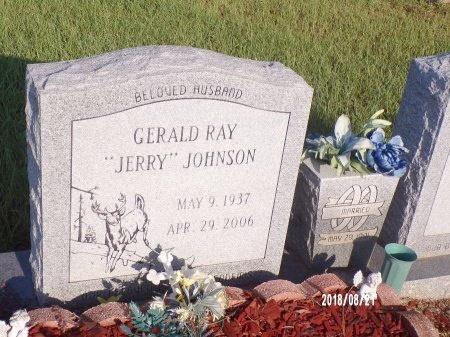 "JOHNSON, GERALD RAY ""JERRY"" - Bradley County, Arkansas | GERALD RAY ""JERRY"" JOHNSON - Arkansas Gravestone Photos"