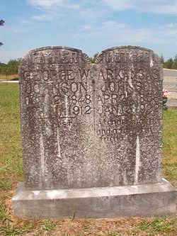 JOHNSON, GEORGE W - Bradley County, Arkansas | GEORGE W JOHNSON - Arkansas Gravestone Photos