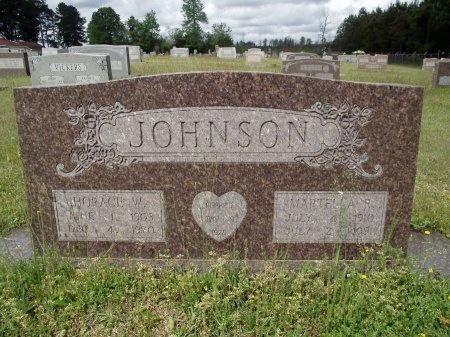 JOHNSON, MARTELLA - Bradley County, Arkansas   MARTELLA JOHNSON - Arkansas Gravestone Photos