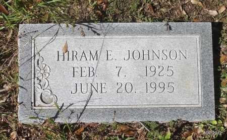 JOHNSON, HIRAM E - Bradley County, Arkansas   HIRAM E JOHNSON - Arkansas Gravestone Photos