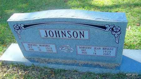 JOHNSON, HERSHEL MARDREL - Bradley County, Arkansas   HERSHEL MARDREL JOHNSON - Arkansas Gravestone Photos