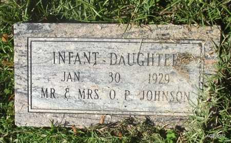 JOHNSON, INFANT DAUGHTER - Bradley County, Arkansas   INFANT DAUGHTER JOHNSON - Arkansas Gravestone Photos