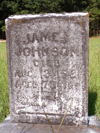 JOHNSON, JAMES - Bradley County, Arkansas | JAMES JOHNSON - Arkansas Gravestone Photos