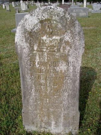 "JOHNSON, JESSE ""FRANK"" - Bradley County, Arkansas   JESSE ""FRANK"" JOHNSON - Arkansas Gravestone Photos"