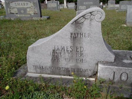 JOHNSON, JAMES ED (CLOSE UP) - Bradley County, Arkansas   JAMES ED (CLOSE UP) JOHNSON - Arkansas Gravestone Photos