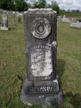 JOHNSON, J FLETCHER - Bradley County, Arkansas   J FLETCHER JOHNSON - Arkansas Gravestone Photos