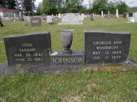JOHNSON, JOHN SANSAIN - Bradley County, Arkansas | JOHN SANSAIN JOHNSON - Arkansas Gravestone Photos