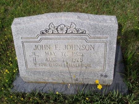 JOHNSON, JOHN EVERETT - Bradley County, Arkansas | JOHN EVERETT JOHNSON - Arkansas Gravestone Photos