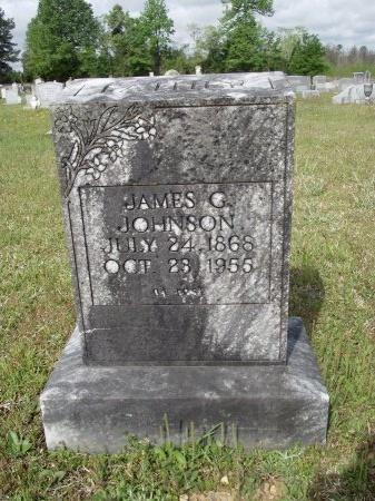 JOHNSON, JAMES GLOVER - Bradley County, Arkansas   JAMES GLOVER JOHNSON - Arkansas Gravestone Photos