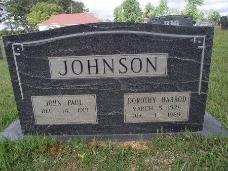 JOHNSON, DOROTHY - Bradley County, Arkansas   DOROTHY JOHNSON - Arkansas Gravestone Photos