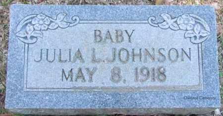 JOHNSON, JULIA L - Bradley County, Arkansas | JULIA L JOHNSON - Arkansas Gravestone Photos