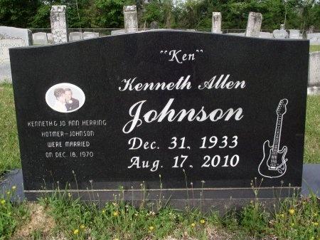 JOHNSON, KENNETH ALLEN - Bradley County, Arkansas | KENNETH ALLEN JOHNSON - Arkansas Gravestone Photos