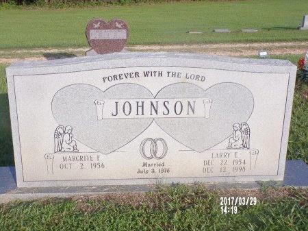 JOHNSON, LARRY E - Bradley County, Arkansas | LARRY E JOHNSON - Arkansas Gravestone Photos