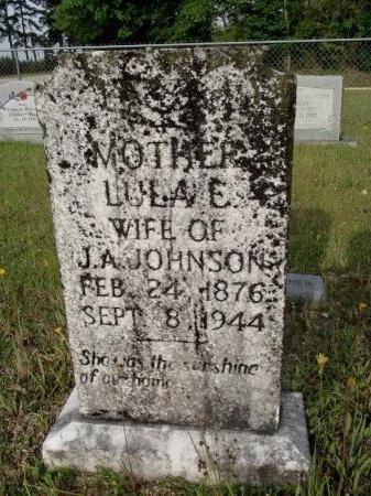 JOHNSON, LULA ETTA - Bradley County, Arkansas | LULA ETTA JOHNSON - Arkansas Gravestone Photos