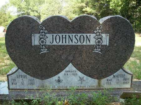 JOHNSON, MATTIE - Bradley County, Arkansas | MATTIE JOHNSON - Arkansas Gravestone Photos