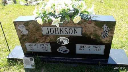 JOHNSON, LEONARD BYRON - Bradley County, Arkansas | LEONARD BYRON JOHNSON - Arkansas Gravestone Photos