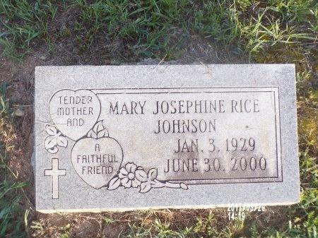 JOHNSON, MARY JOSEPHINE - Bradley County, Arkansas | MARY JOSEPHINE JOHNSON - Arkansas Gravestone Photos