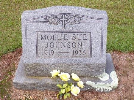 JOHNSON, MOLLIE SUE - Bradley County, Arkansas | MOLLIE SUE JOHNSON - Arkansas Gravestone Photos