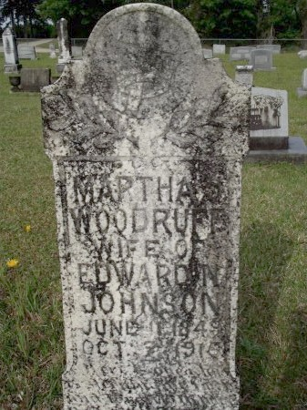 JOHNSON, MARTHA J - Bradley County, Arkansas   MARTHA J JOHNSON - Arkansas Gravestone Photos