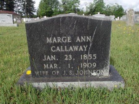JOHNSON, MARGE ANN - Bradley County, Arkansas   MARGE ANN JOHNSON - Arkansas Gravestone Photos
