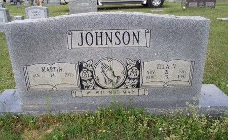 JOHNSON, MARTIN - Bradley County, Arkansas | MARTIN JOHNSON - Arkansas Gravestone Photos