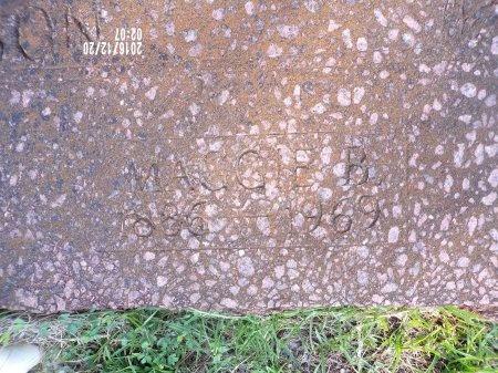 JOHNSON, MAGGIE B (CLOSE UP) - Bradley County, Arkansas   MAGGIE B (CLOSE UP) JOHNSON - Arkansas Gravestone Photos