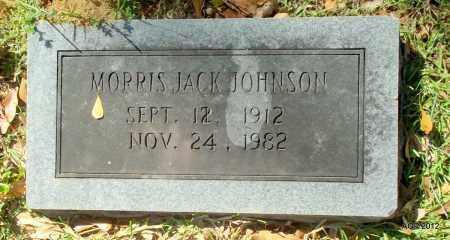 JOHNSON, MORRIS JACK - Bradley County, Arkansas | MORRIS JACK JOHNSON - Arkansas Gravestone Photos