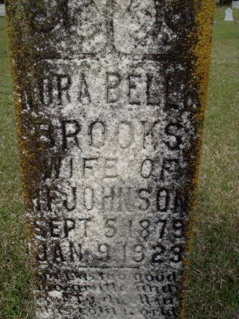 JOHNSON, NORA BELLE (CLOSE UP) - Bradley County, Arkansas | NORA BELLE (CLOSE UP) JOHNSON - Arkansas Gravestone Photos