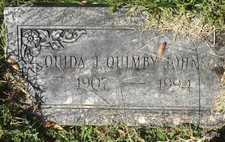 JOHNSON, OUIDA J - Bradley County, Arkansas | OUIDA J JOHNSON - Arkansas Gravestone Photos