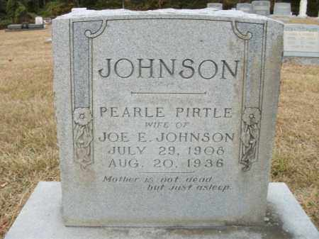 JOHNSON, PEARLE - Bradley County, Arkansas | PEARLE JOHNSON - Arkansas Gravestone Photos