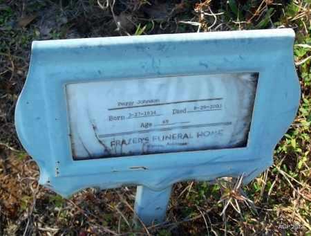 JOHNSON, PEGGY - Bradley County, Arkansas   PEGGY JOHNSON - Arkansas Gravestone Photos