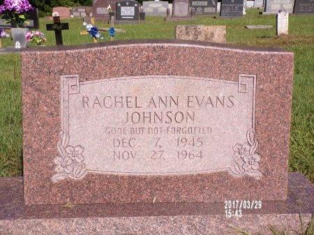 JOHNSON, RACHEL ANN - Bradley County, Arkansas   RACHEL ANN JOHNSON - Arkansas Gravestone Photos