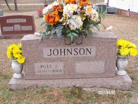 JOHNSON, RILEY FRANKLIN - Bradley County, Arkansas   RILEY FRANKLIN JOHNSON - Arkansas Gravestone Photos