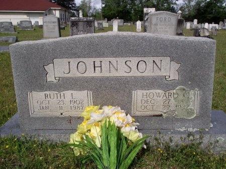 JOHNSON, HOWARD C - Bradley County, Arkansas   HOWARD C JOHNSON - Arkansas Gravestone Photos