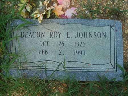 JOHNSON, ROY L - Bradley County, Arkansas | ROY L JOHNSON - Arkansas Gravestone Photos
