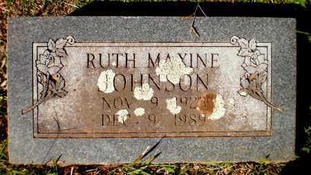 JOHNSON, RUTH MAXINE - Bradley County, Arkansas | RUTH MAXINE JOHNSON - Arkansas Gravestone Photos