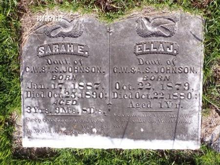 JOHNSON, ELLA J - Bradley County, Arkansas | ELLA J JOHNSON - Arkansas Gravestone Photos